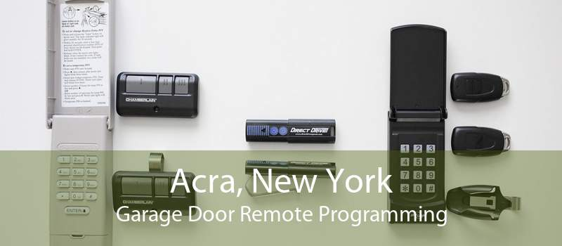 Acra, New York Garage Door Remote Programming