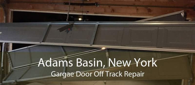 Adams Basin, New York Gargae Door Off Track Repair