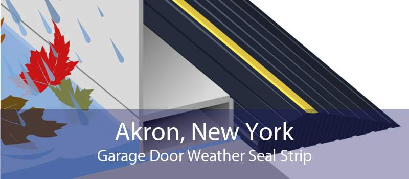 Akron, New York Garage Door Weather Seal Strip