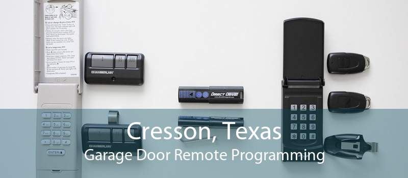 Cresson, Texas Garage Door Remote Programming
