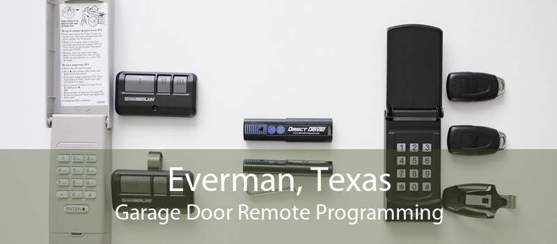 Everman, Texas Garage Door Remote Programming